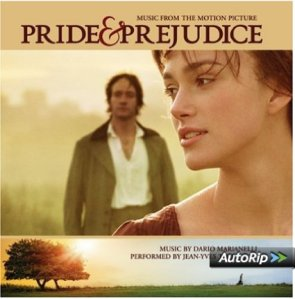 pride and prejudice sound track