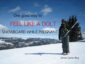 aimee cartier snowboard dolt